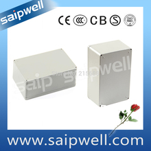 Saipwell IP66 outdoor junction Waterproof Aluminum box electrical with CE Certification 188*120*78mm SP-FA3