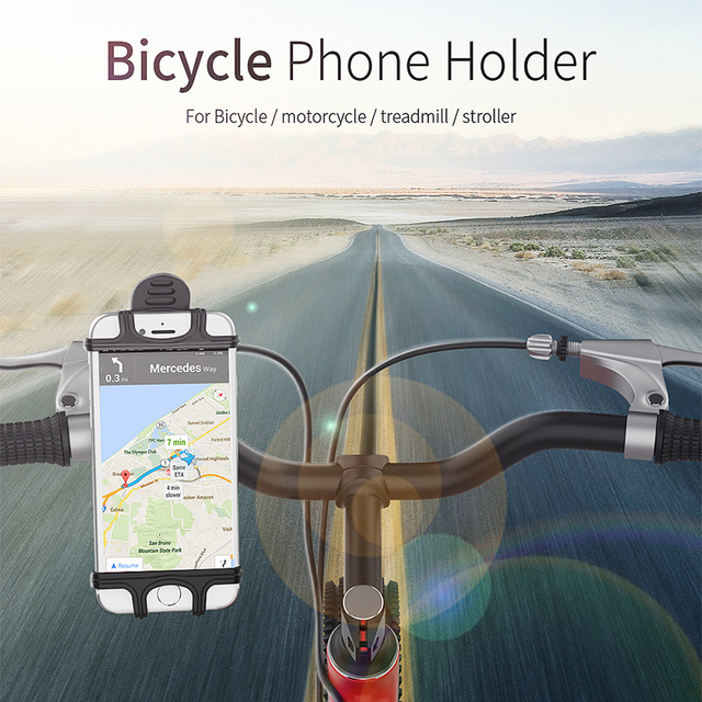 Essager Bike Bicycle Phone Holder For iPhone Cell Mobile Phone Holder Stand Support Handlebar Moto Motorcycle Phone Holder Mount