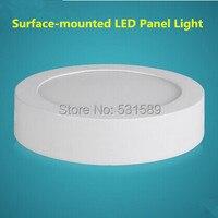20 ADET Yeni 18 W yüzey led monte paneli aydınlatma AC85-265V/90 adet SMD2835 yüksek lümen/ücretsiz kargo