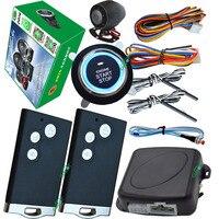pke smart car alarm system card smart key entry push button start stop mute arm or disarm remote engine start stop push start