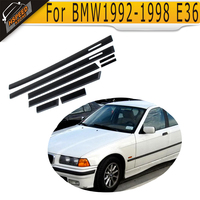 E36 PP Auto Car Door Edge Guards Molding Trim Protection Strip Protector For BMW 1992 1998