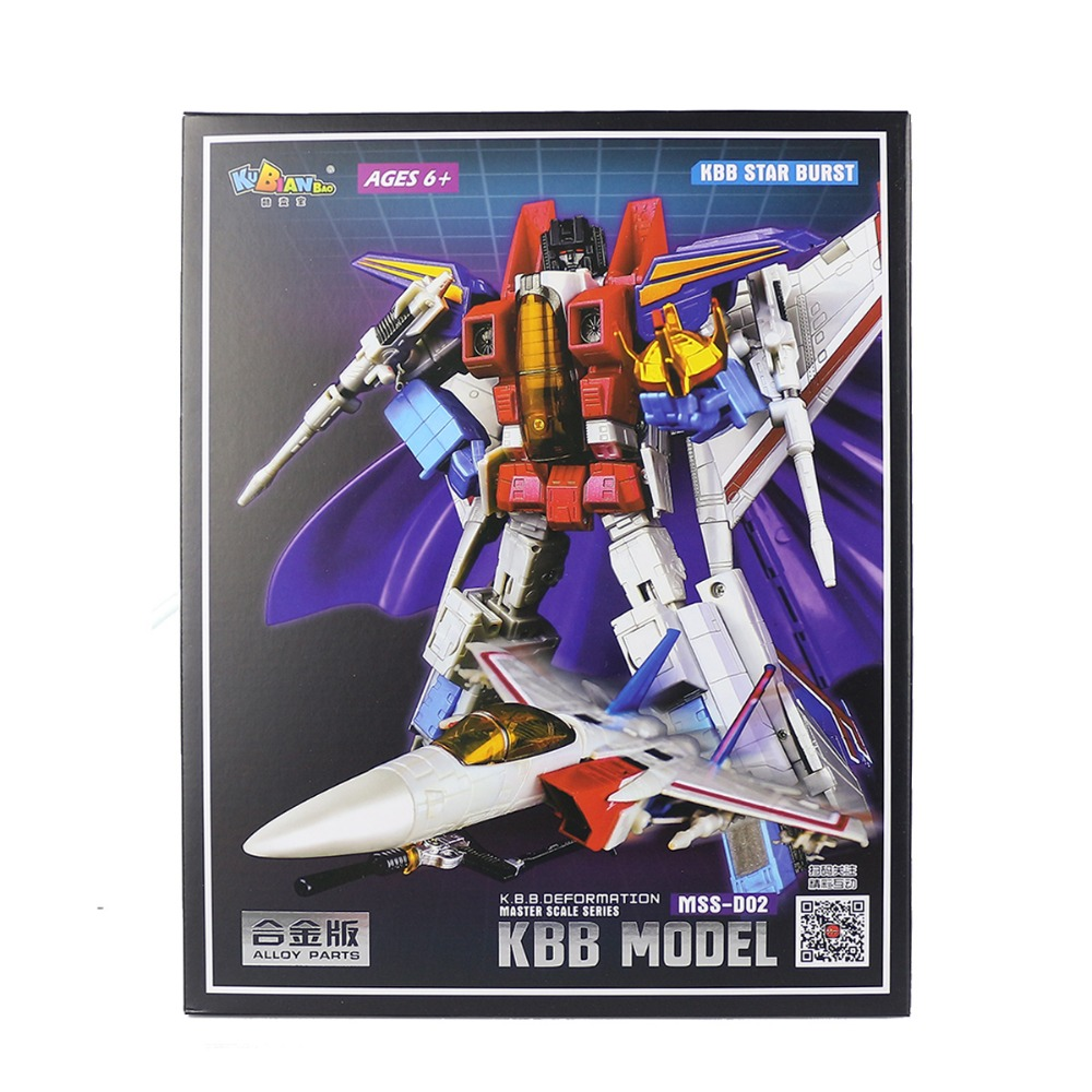 KBB MSS D02 Classic Deformation Robot Master Scale Alloy Parts ...