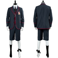 The Umbrella Academy Cosplay Costume School Uniform Boys Girls Outfit Coat Full Suit Halloween Carnival Costumes For Kids