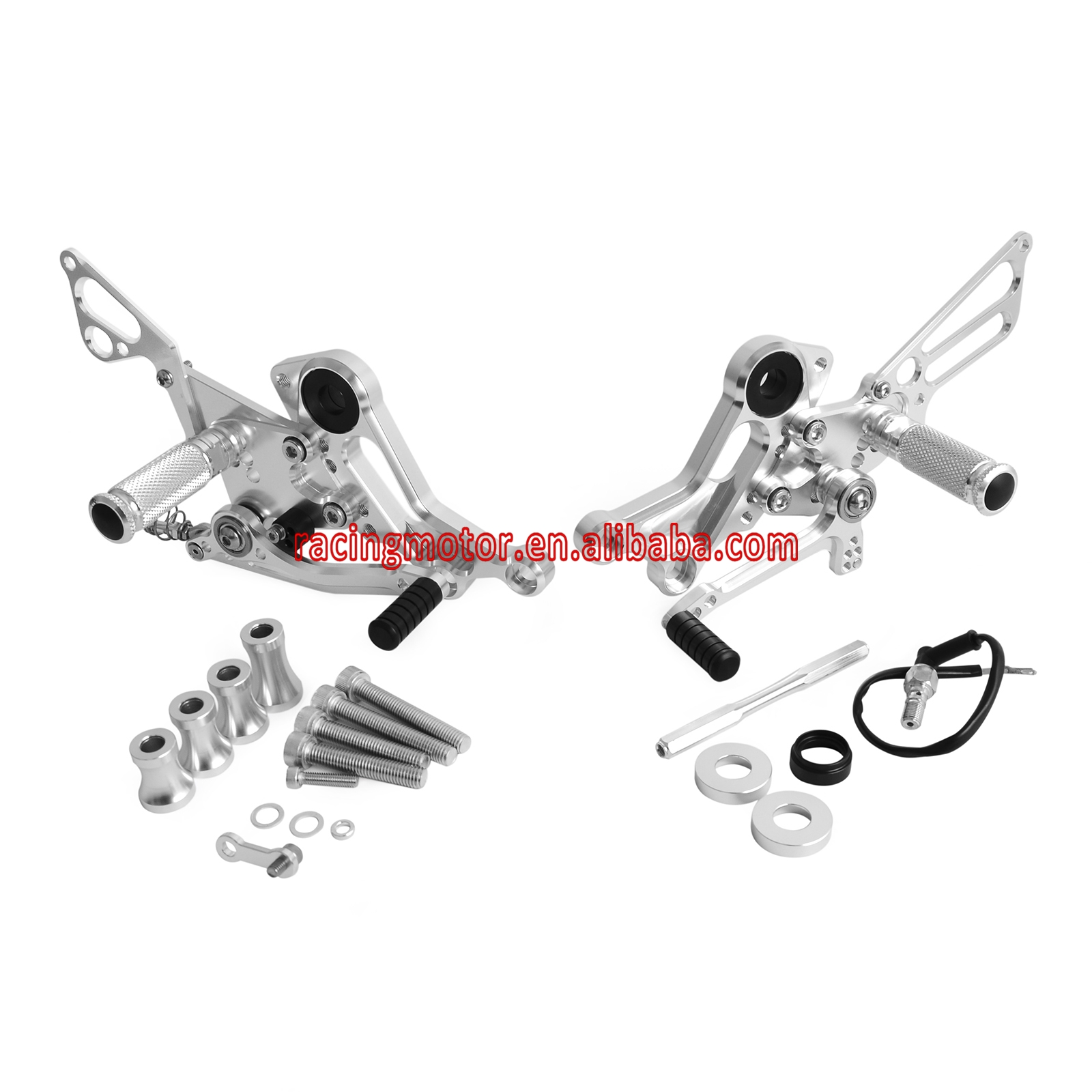 Aliexpress.com : Buy CNC Rear Sets Footrests for Ducati