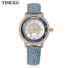 Fashion Women Brand Watches Leather Strap Ladies Quartz Watches Original Business Watches For Women W0254