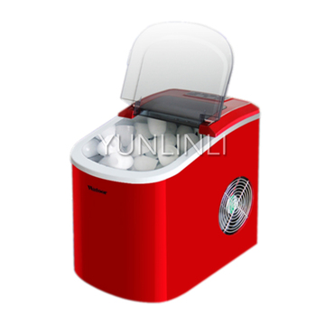 2.2L Commercial/Household Ice Maker Ice Making Machine for Shop/ Restaurant Ice Machine Fast Ice Maker  HZB-12/A household ice maker commercial stainless steel round ice cube machine small size ice cube making machine hzb 15as