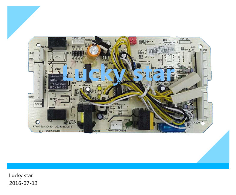 98% new for Air conditioning computer board circuit board CE-KFR140W/S-520T.D.1. board good working 95% new for haier refrigerator computer board circuit board bcd 198k 0064000619 driver board good working