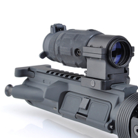 Tactical Holographic Rifle Scope AP Style 3X Magnifier With QD Twist RIS Weaver Mount For Hunting