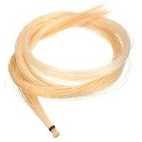 8 шт. 32 дюймов 80 см Скрипки лук Скрипки натуральных волос конского волоса белый