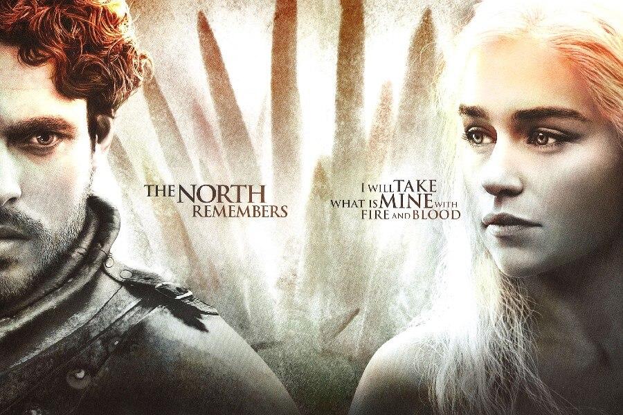 Hot Sale DIY frame game of thrones tv season 4 daenerys targaryen ...