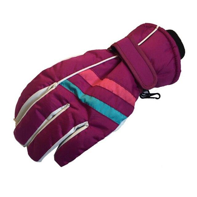 Лыжные перчатки для сноуборда зимние теплые женские варежки женские непромокаемые зимние перчатки женские