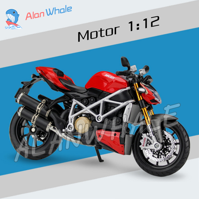 1 12 Scale New Ducati Mod Streetfighter S Metal Diecast Model