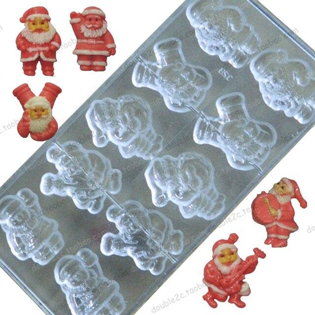 3d christmas mold chocolatepolycarbonate chocolate molds3d santa claus mixedmoldes para