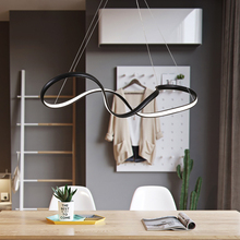 Black or White Dimmable Chandelier For Living Room Bar Dining Room Remote Control Modern led Hanging Chandeliers Free Shipping house bar lift chair dining room living room kitchen stool free shipping retail wholesale black orange color
