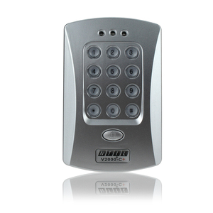 Image 2 - Hot sale completed door access control system kit V2000 C+ electric drop bolt lock+power supply+exit button+10pcs ID key cards