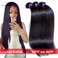 Brazilian Virgin Hair Straight 3 Bundle Deals Brazilian Straight Hair Mink Brazilian Hair Weave Bundles Wet And Wavy Human Hair