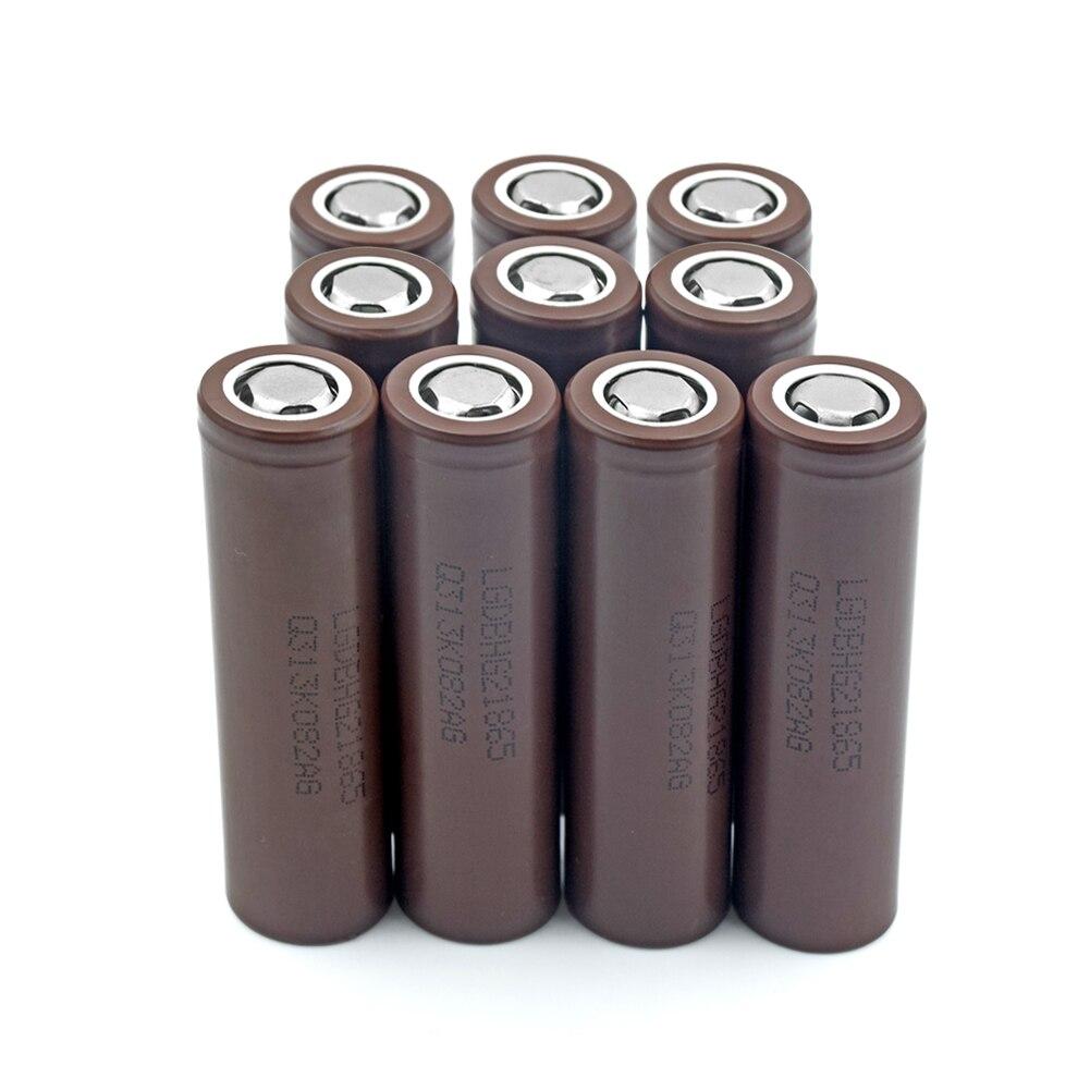 Batterie Rechargeable LG 18650 HG2 3000 mAh 3.7 V pour torche Mini ventilateur Gamepad X10 pour stylo Laser lampe de poche LED support de batterie de cellule