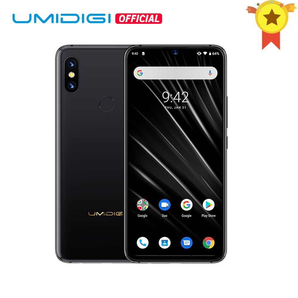 UMIDIGI S3 PRO 48MP+12MP+20MP Super Camera Android 9.0 5150mAh Big Battery 6GB 128GB 6.3