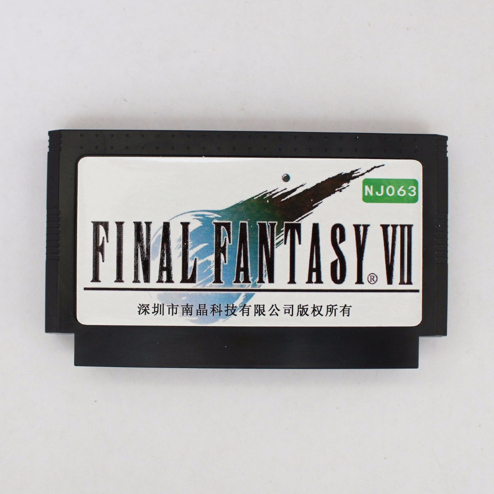 Final Consumers: Top Quality Game Cartridge 60 Pins 8 Bit Game Card Final