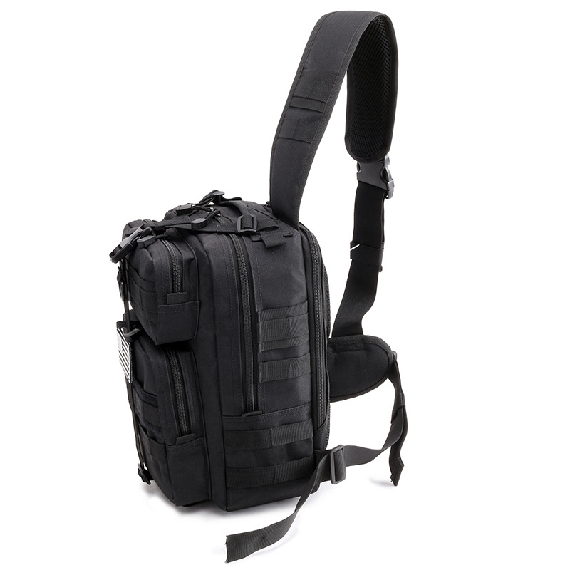 Military Tactical Assault Pack Sling Backpack Army Molle Waterproof Rucksack Bag for Outdoor Hiking Camping Hunting 20L in Climbing Bags from Sports Entertainment