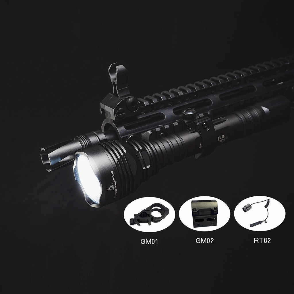 LED alüminyum el feneri açık taktik el feneri avcılık arama ve kurtarma devriye yürüyüş mağara kendini savunma
