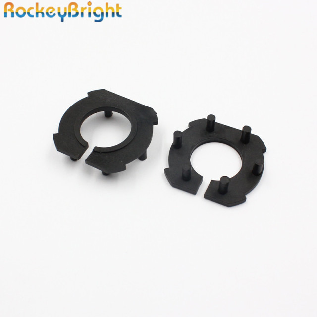 Rockeybright H7 Car Headlight Adapter For Mazda 3 LED H7 Bulb Holder  Adapters Socket Base Retaining