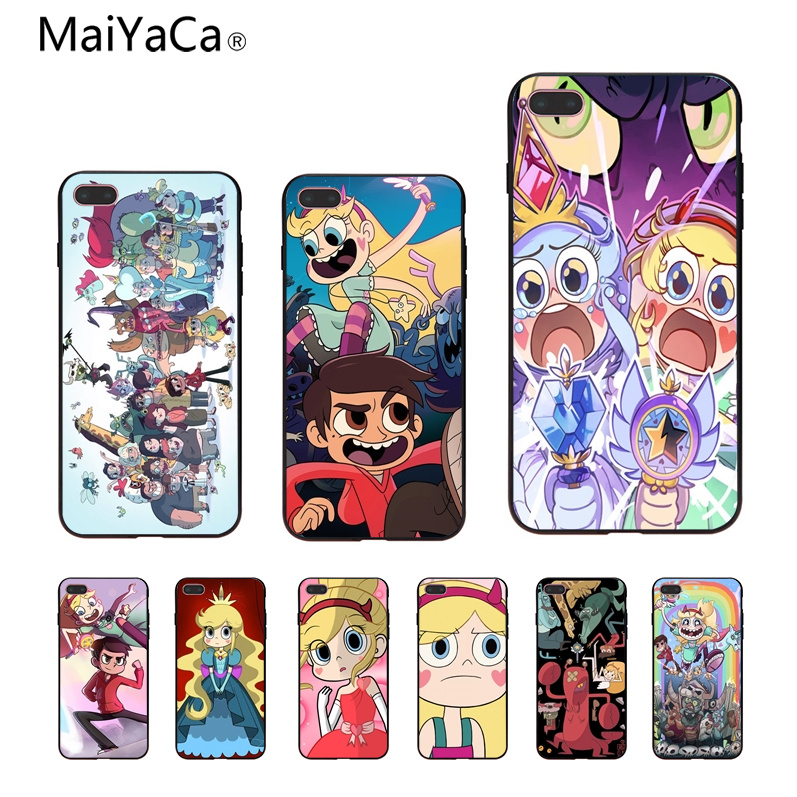MaiYaCa Star vs the Forces of Evil Luxury High-end Protector phone Case For iPhone 8 8plus 7plus 6 6s plus Mobile phone cover
