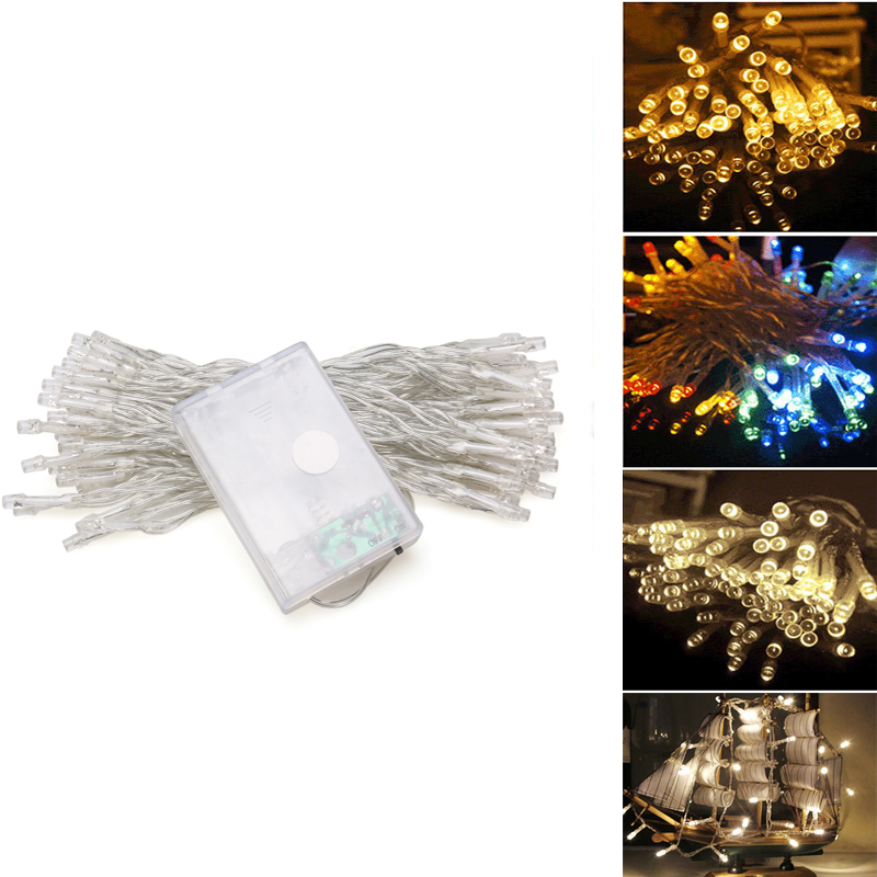 4m 40 leds christmas lights outdoor led fairy lights string lights battery operated for xmas. Black Bedroom Furniture Sets. Home Design Ideas