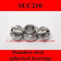 Freeshipping Stainless Steel Spherical Bearings SUC210 UC210