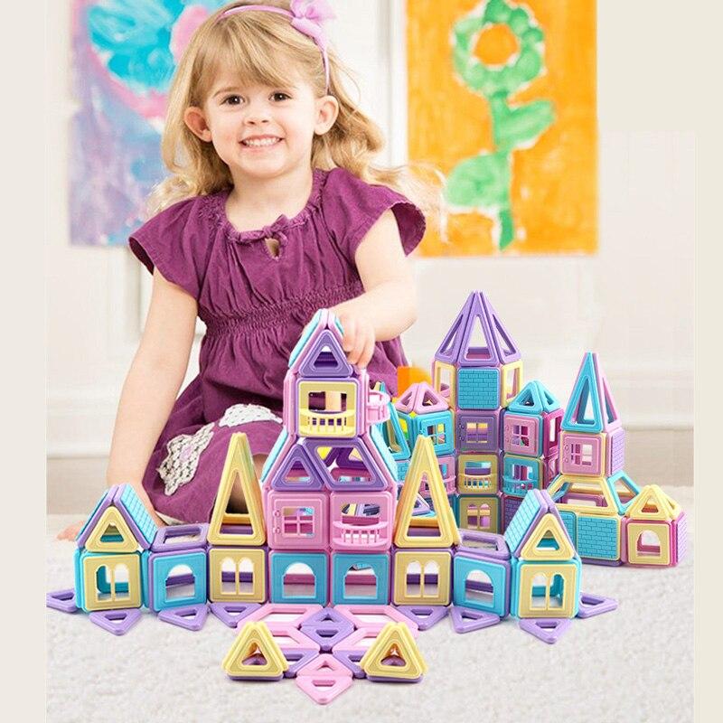 30-156 Stuks Mini Magnetische Bouwstenen Constructor Designer 3d Trekken Diy Educatief Speelgoed Kids Magneet Speelgoed Voor Kinderen Geschenken De Mondholte Schoonmaken.