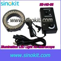 무료 배송 현미경 led 서클 라이트 85-265 v-50/60 hz-SS-HG-05