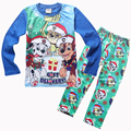 New Boys Pajama Sets Dog Cotton Clothing Set For Boys Long Sleeve Shirt + Pants 2 Pieces Children Clothing Kids Pajama Sets