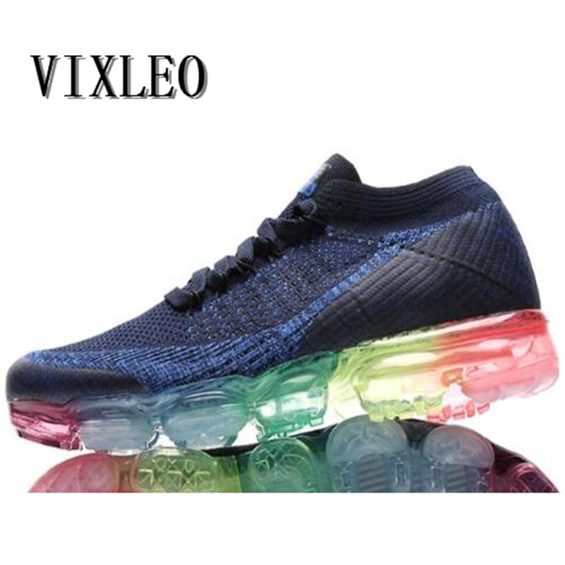 2018 Mens Running Shoes For Outdoor Comfortable red black fly For Men Sneakers Air Sport vapormax Shoes woman Size 36-45 mulinsen men s running shoes blue black red gray outdoor running sport shoes breathable non slip sport sneakers 270235