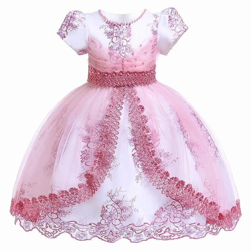 48579304c1 Girls Dress Unicorn Party Toddler Dress MOANA Costume Easter Kids Dresses  For Girls Elegant Princess Dress