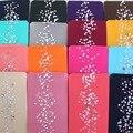 Fashion Women 80D Velvet Color Bling Slim Rhinestone Shiny Pantyhose Tights Women Diamond Velvet Stockings