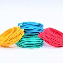 200PCS/Pack Colorful Nature Rubber…