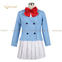Kisstyle Fashion Zettai Karen Children Girl Uniform COS Clothing Cosplay Costume,Customized Accepted