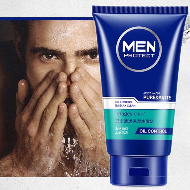 100g Gesicht Bleaching öl Kontrolle Akne Schönheit Hautpflege Männer Hyaluronsäure Feuchtigkeitsspendende Gesichtsreiniger Angenehme SüßE