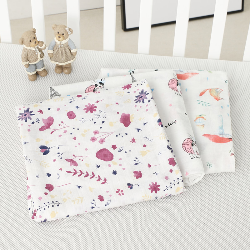 все цены на 2018 70% Bamboo cotton baby muslin swaddle blankets quality better than Aden Anais Baby Multi-use cotton Blanket Infant Wrap