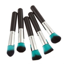 Very popular Professional High Quality Wood Handle Soft Beauty 10pcs Makeup Brushes Set Powder Foundation Eyeshadow Tool