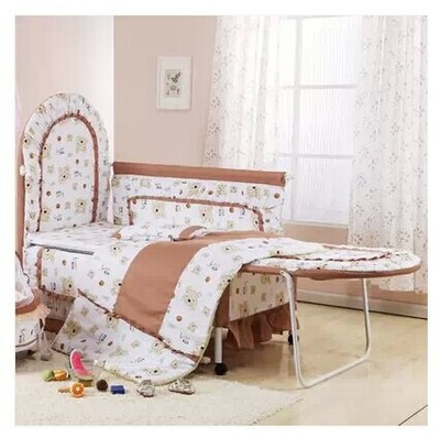2018 Rushed Baby Crib Fashion Baby Bed Cradle Concentretor Band Mosquito Net Roller Multifunctional Game Eco Friendly Bb Child baby bed curtain kamimi children room decoration crib netting baby tent cotton hung dome baby mosquito net photography props