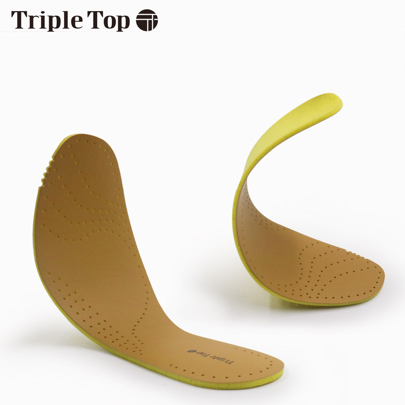 TripleTop Well Price Light Weight Leather insoles with Breathable Spring Back Well Deodorization Leather insoles in Insoles from Shoes