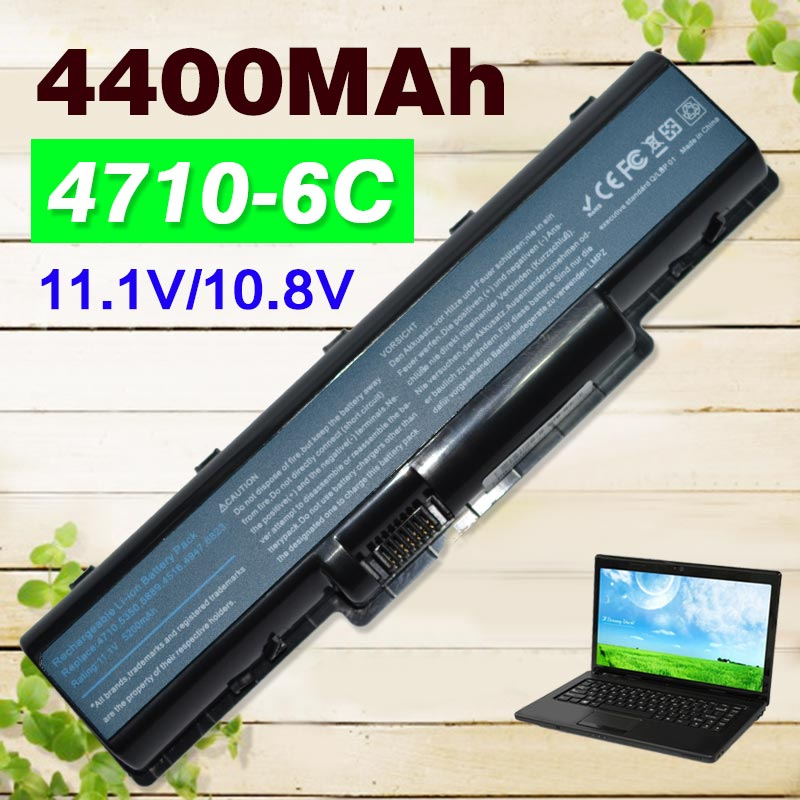 4400mAh Battery for Acer Aspire AS07A31 AS07A32 AS07A41 AS07A42 AS07A51 AS07A52 AS07A71 5740 4740G 2930 4530 MS2219