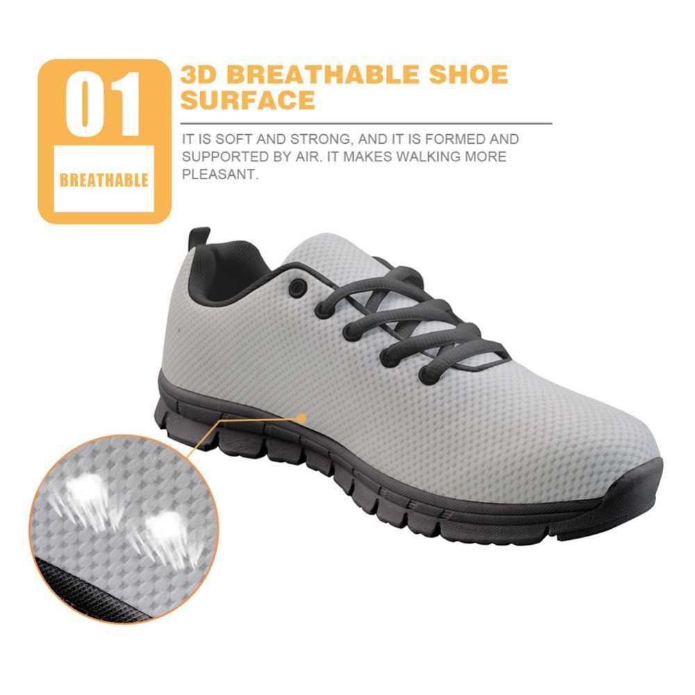 Whereisart Erkek Boyama Sneakers Flats Casual Rahat Nefes örgü Ayakkabı Erkekler Için özel Ayakkabılar Doğa Boyama Ayakkabı