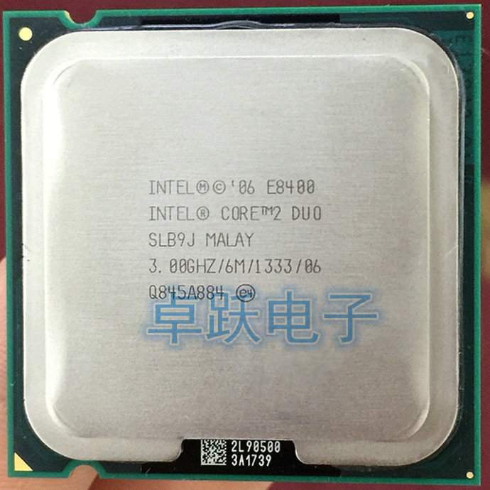 Origianl Intel Core 2 Duo E8400 CPU Processor (3.0Ghz 6M 1333GHz) Socket 775