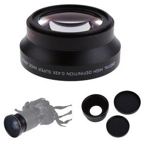 Image 3 - 67mm Digital High Definition พร้อมเลนส์มาโครสำหรับ Canon Rebel T5i T4i T3i สำหรับ nikon 18 105