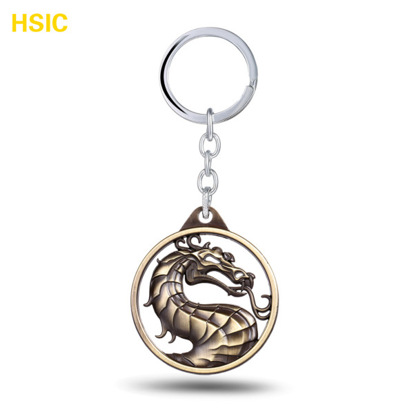 Gragon Hot Game Mortal Kombat Keychain Metal Key Rings For Gift Chaveiro Key Chain Jewel ...