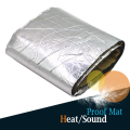 50 x 100CM Car Truck Aluminum Foil Heat Shield Sound Proof Noise Control Mat Sticker Deadening Deadener
