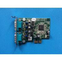 NEW Low Profile Dual Serial Port Add In Card WYVFX / 0WYVFX / CN 0WYVFX / 01012WAA0 017 G for Dell OptiPlex XE Series