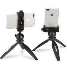 Ulanzi Mini Điện Thoại Chân Máy Để Bàn Điện Thoại Thông Minh Gắn Giá Kẹp Đứng W Có Thể Tháo Rời Ballhead Cho iPhone X/8/7 Plus Huawei xiaomi